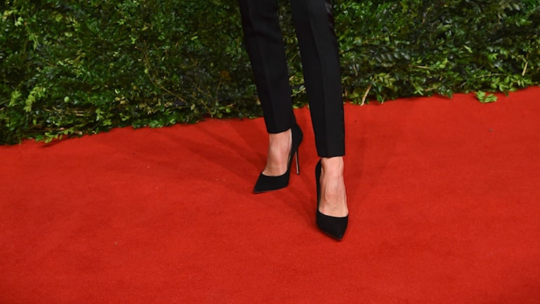 Victoria Beckhams skor.