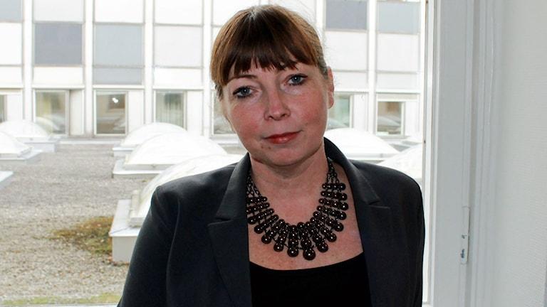Ami Malmros, programchef för UR:s barn- och ungdomsredaktion. FOTO: Cecilia Djurberg/Sveriges Radio