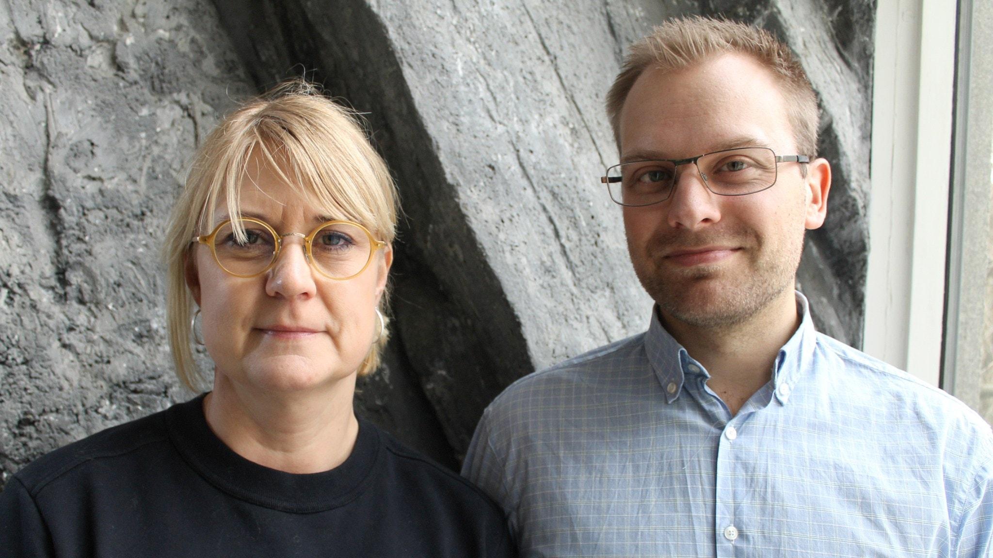 Erika Bosta, rektor restaurangskolan, Grillska gymnasiet i Sundbyberg och Joel Gudheimsson, yrkeslärare på Stockholms hotell- och restaurangskola, medverkar.