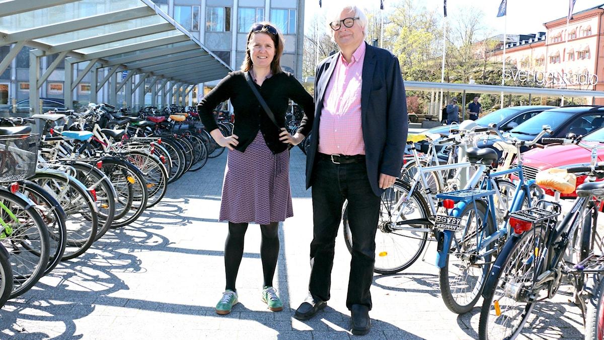Thomas och Louise cykel
