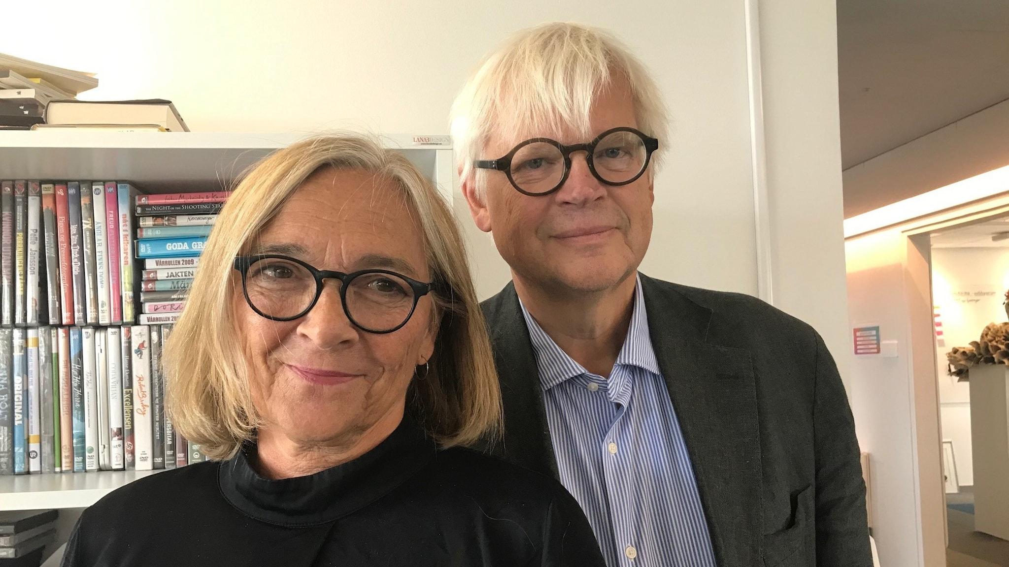 Helene Benno och Thomas Nordegren.