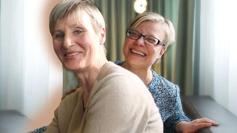 Kristina Spegel och Carola Rosendahl. mindfulness