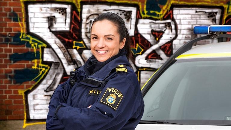 """Alexandra Goncalves från SVT:s """"Brottsligt"""""""