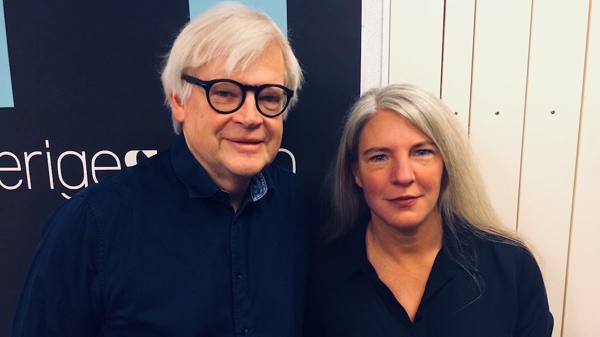 Thomas Nordegren och Sara Stenholm Pihl.