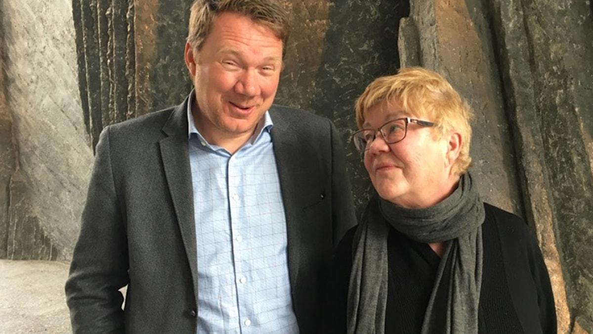 Niklas Svensson, Expressen och Lena Mellin, Aftonbladet.