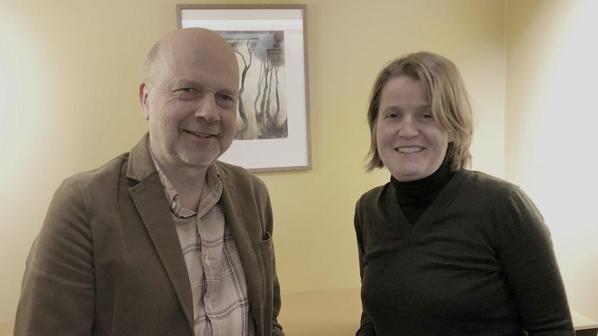 Louise Epstein och Gunnar Bolin