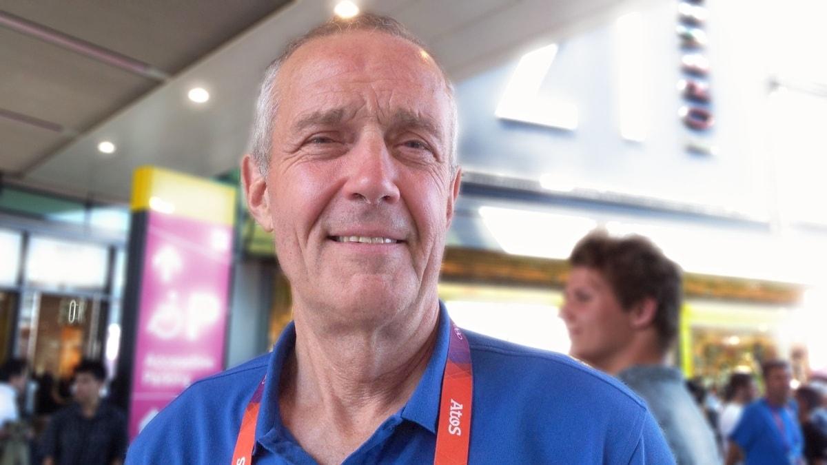 Bo Berglund, chefsläkare för Svenska Olympiska Kommitten.