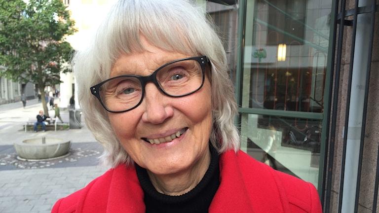 Professor Anna Ivarsdotter, som själv varit fäbojänta.