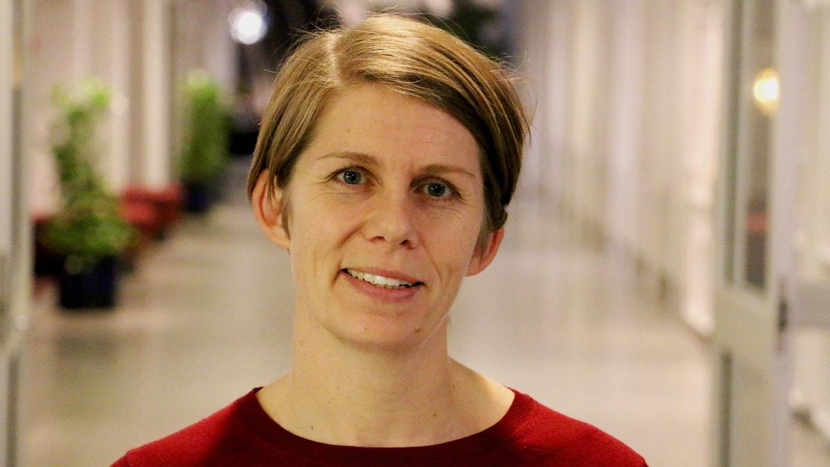 Ulrika Hyllert, ordförande för Sveriges Radios journalistklubb