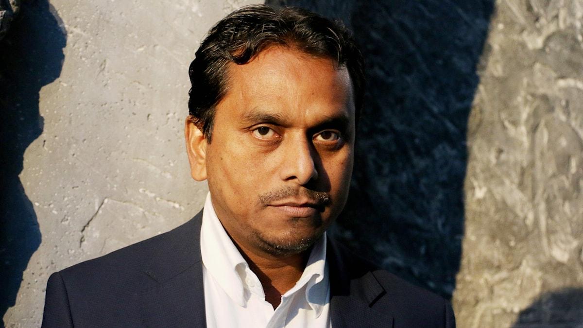 Abul Kalam, ordförande Swedish Rohingya Association.