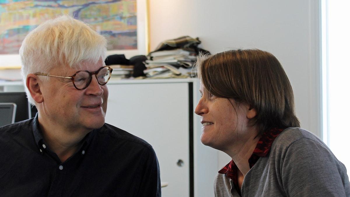 Thomas Nordegren och Louise Epstein.