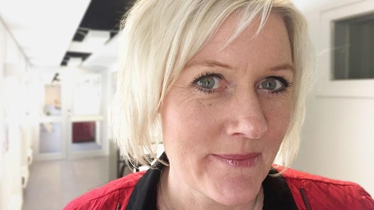 Lena Rådström Baastad. Foto: Erik Hedtjärn/Sveriges Radio