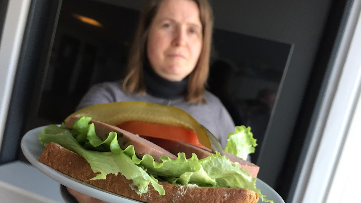 Louise och smörgåsen