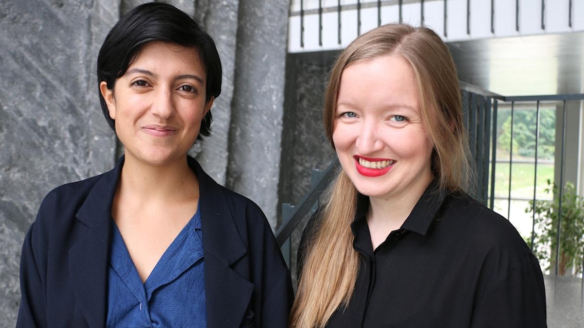 Två av ljudkonstnärerna bakom Toncirkeln gästar studion: kompositören Shida Shahabi och Anna Sóley Tryggvadóttir, kompositör och ljuddesigner.