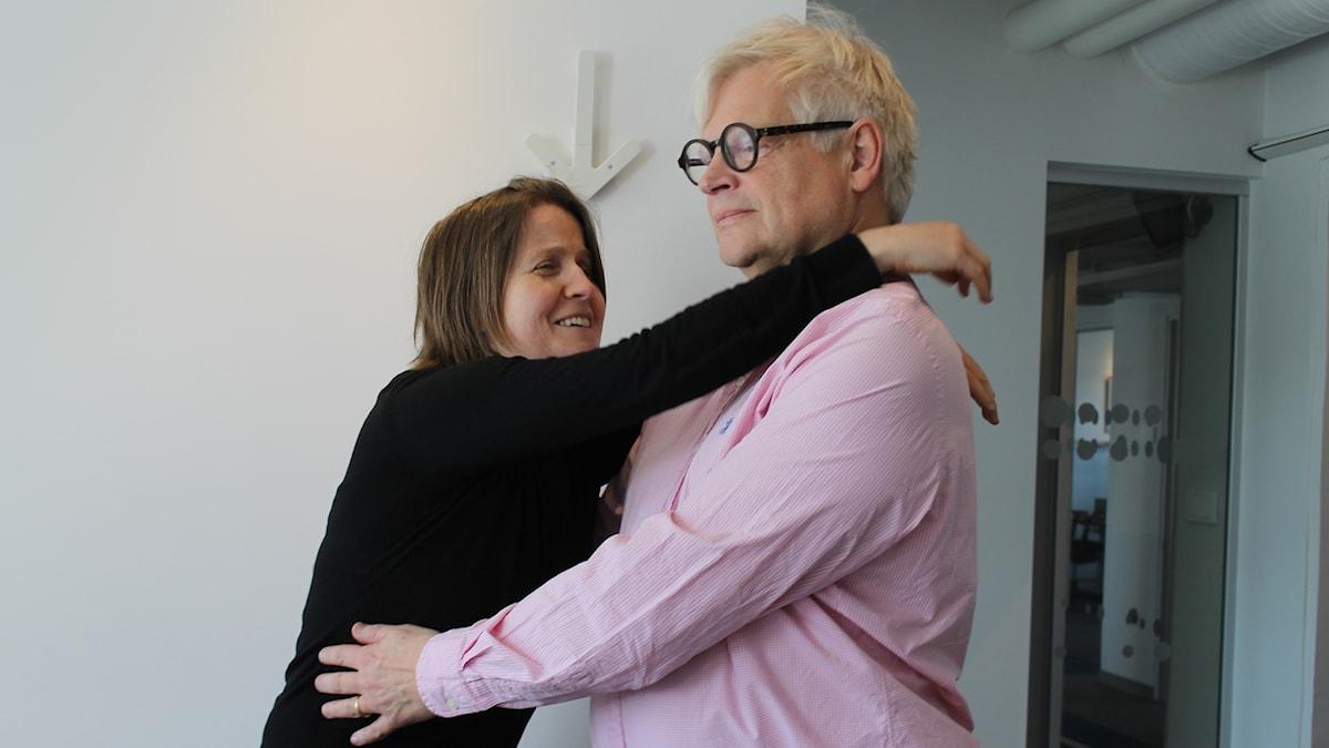 Louise Epstein och Thomas Nordegren