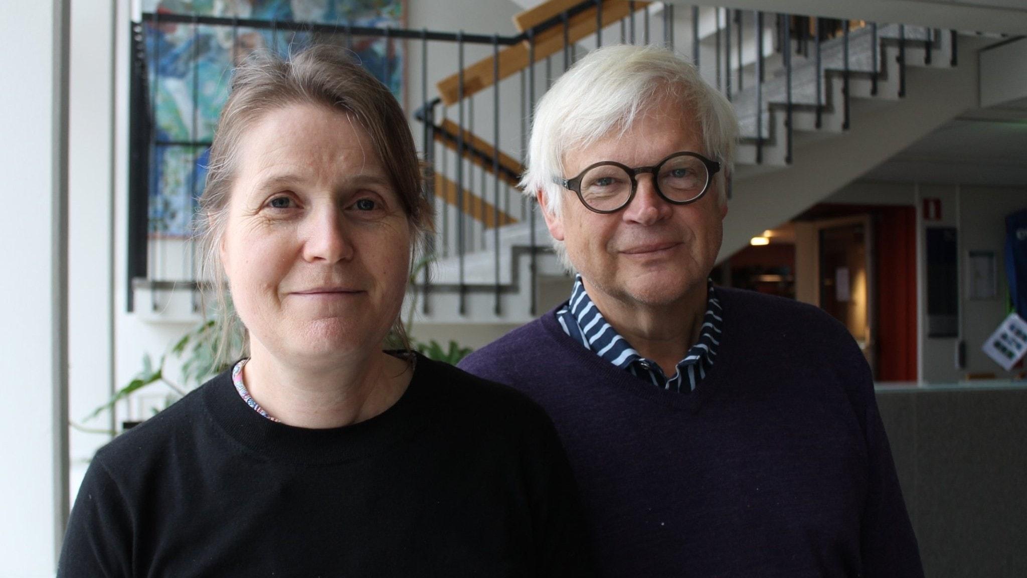 Louise Epstein och Tomas Nordegren