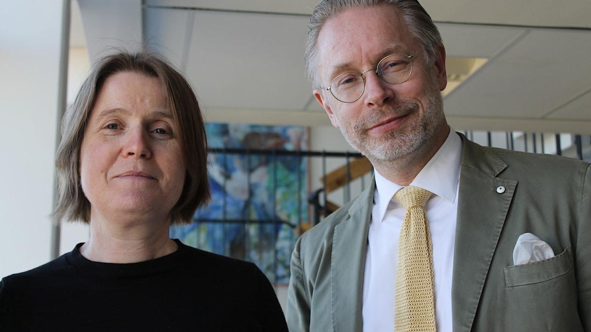 Louise Epstein och Daniel Alling