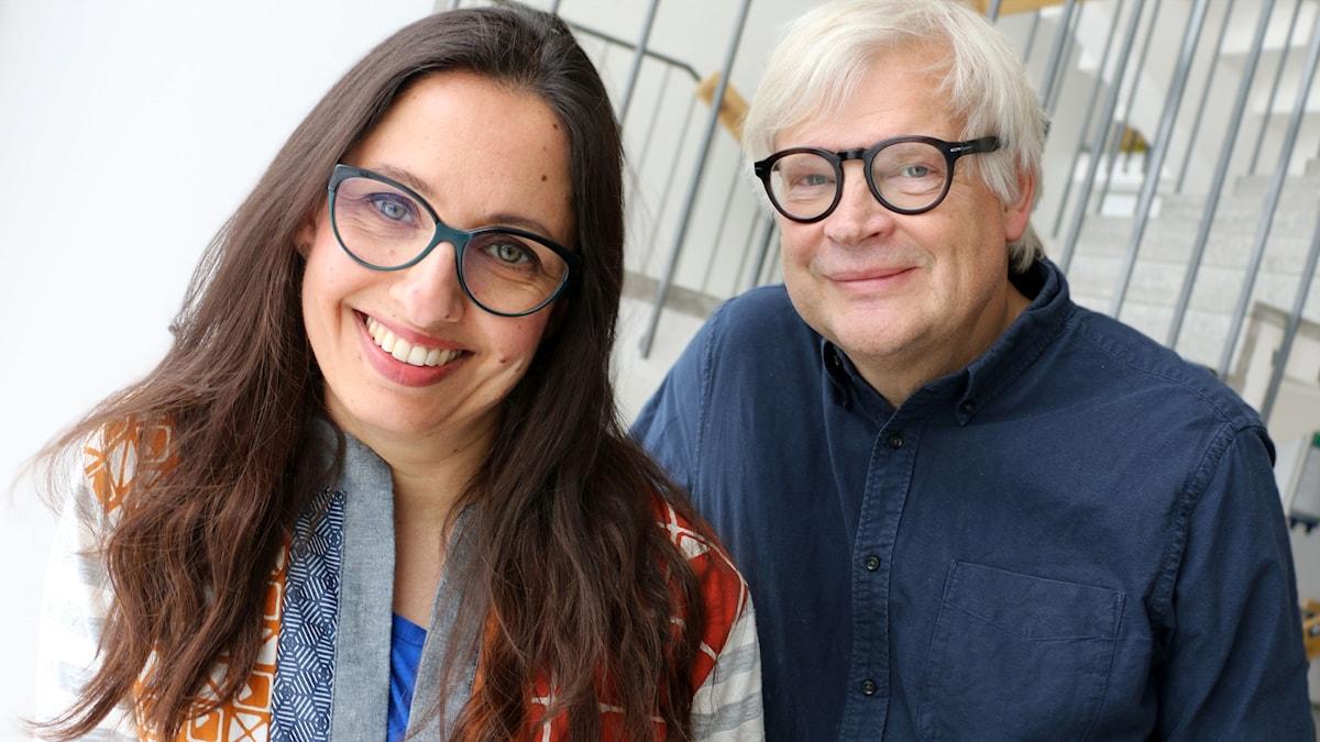 Naila Saleem och Thomas Nordegren