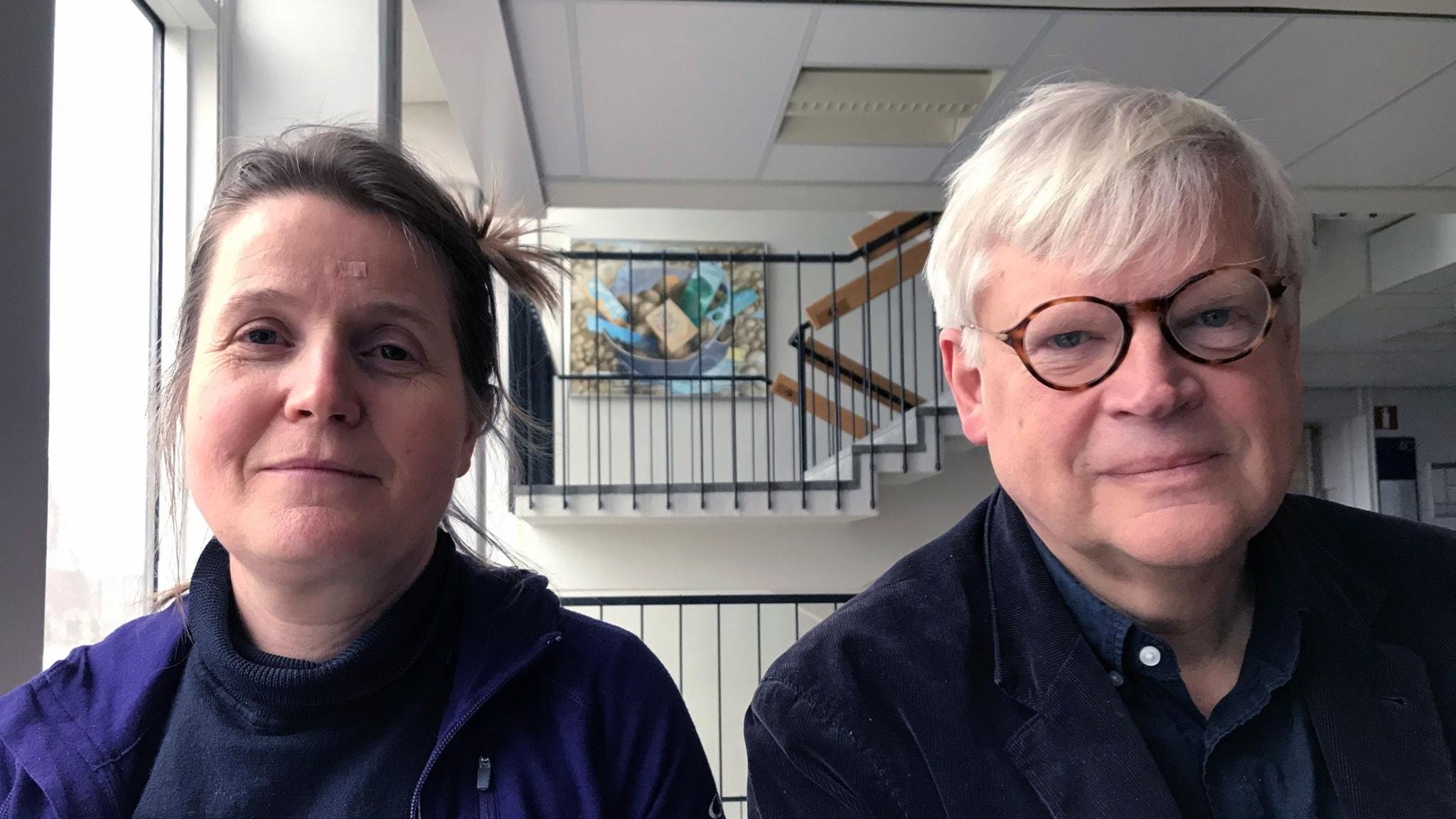 Louise Epstein och Thomas Nordegren. Foto Ulrika Lindqvist,