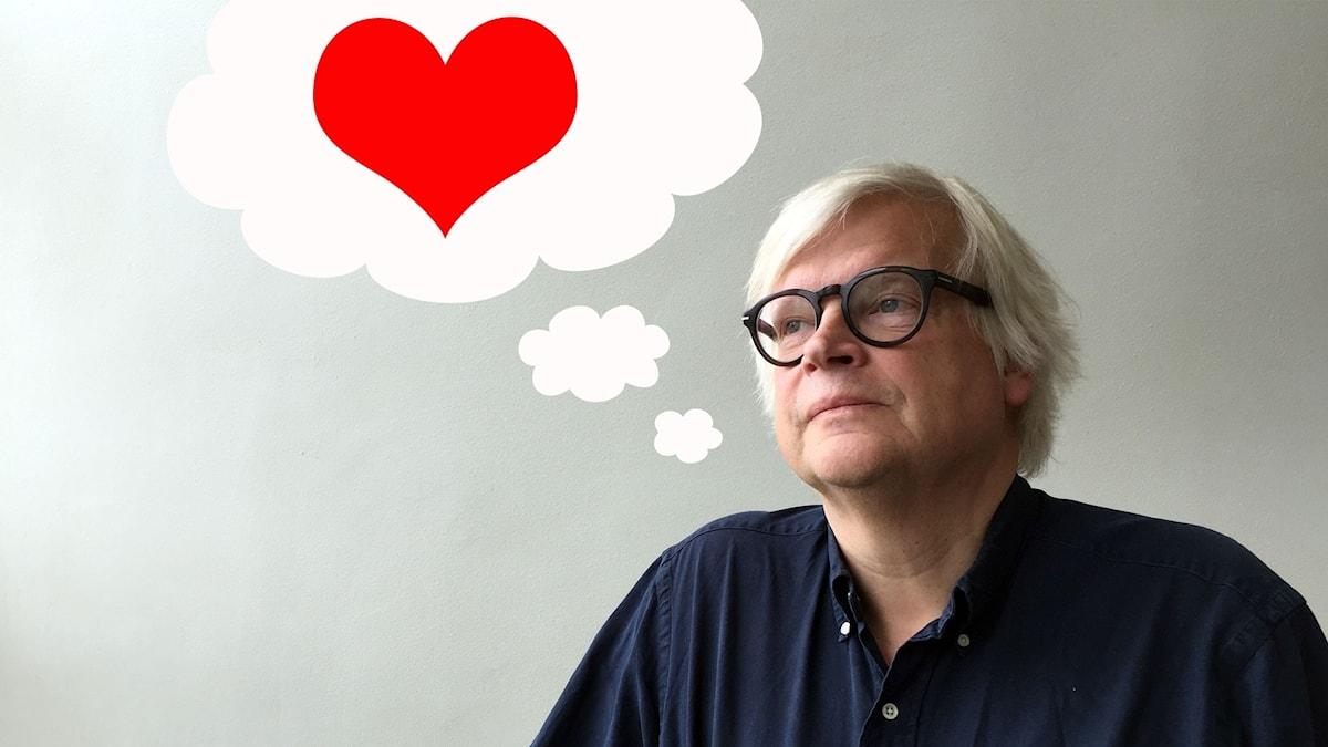 Thomas tänker på kärlek