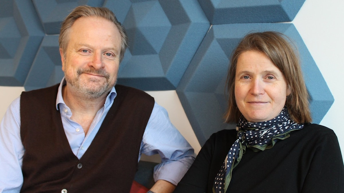 Karsten Thurfjell och Louise Epstein