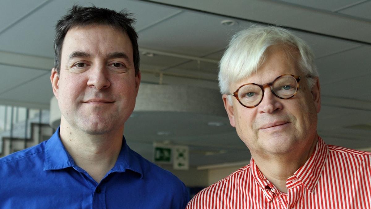 Fredrik Wadström och Thomas Nordegren.