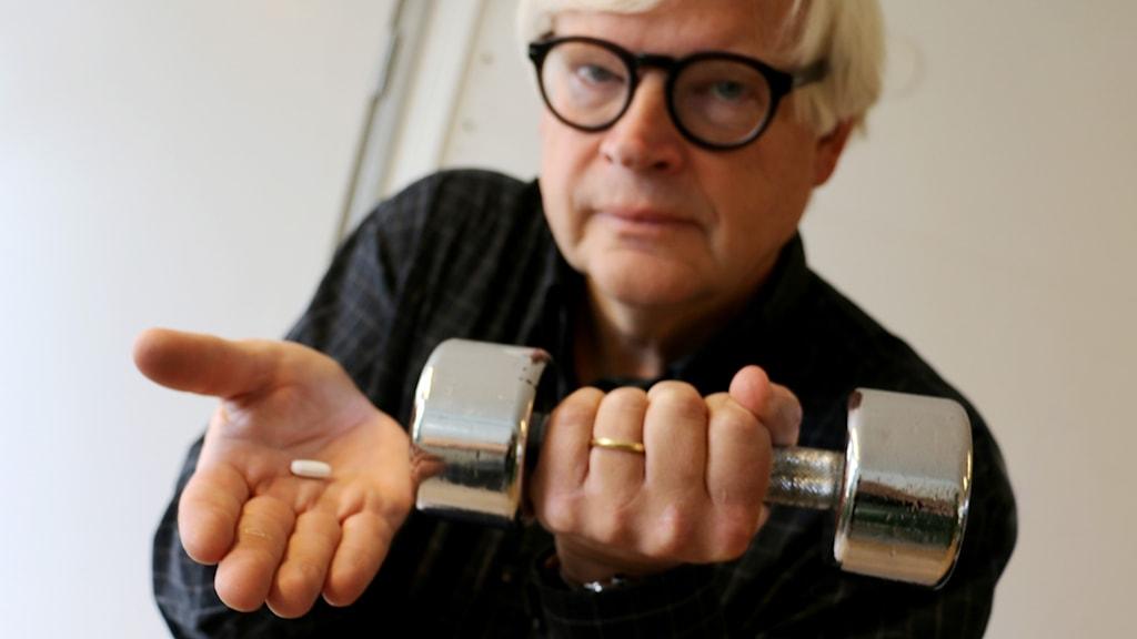 Thomas Nordegren och träningspillret