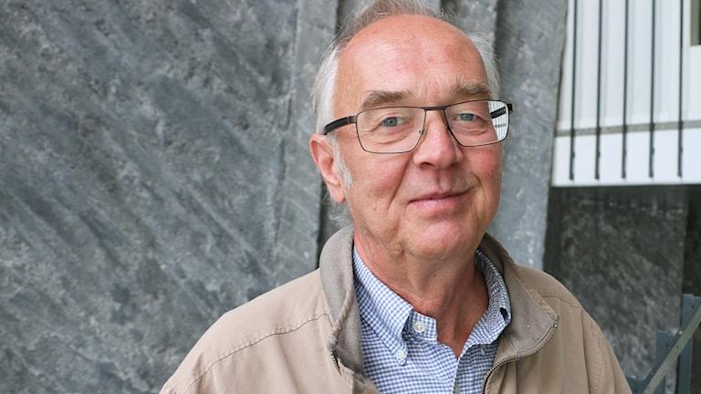 Journalisten och författaren Nils Funcke, expert på yttrandefrihet.