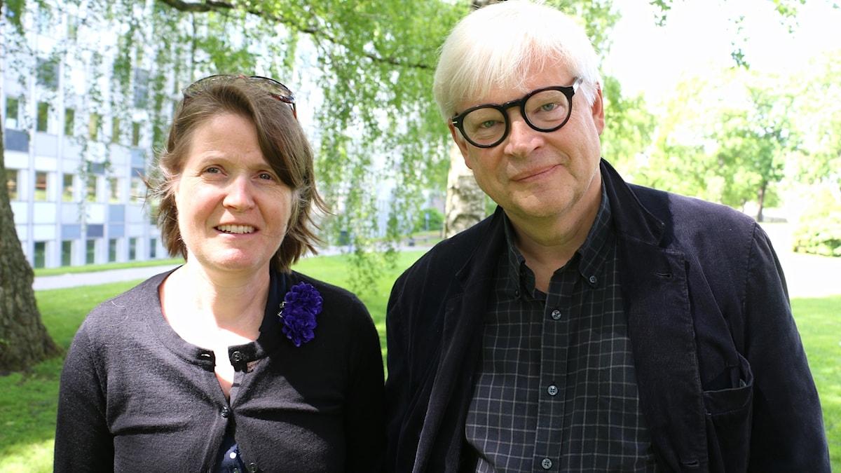 Thomas Nordegren & Louise Epstein i Radiohusparken