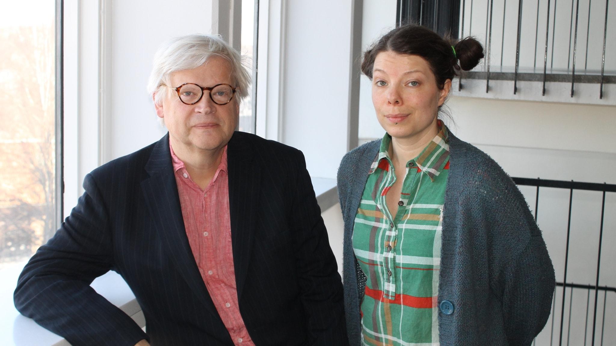Thomas Nordegren och Thella Johnson