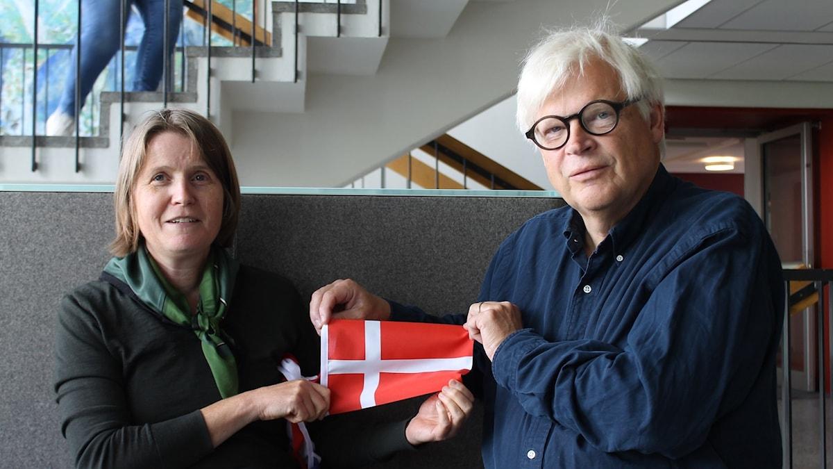 Louise Epstein och Thomas Nordegren augusti 2019.