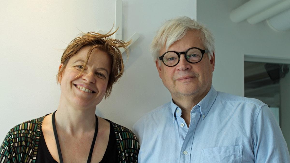 Thomas Nordegren och Jenny Teleman