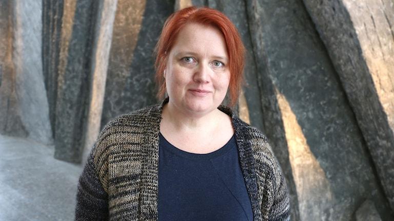 Pernilla Klüft designer - porträttbild. Foto: Ronnie Ritterland / Sveriges Radio