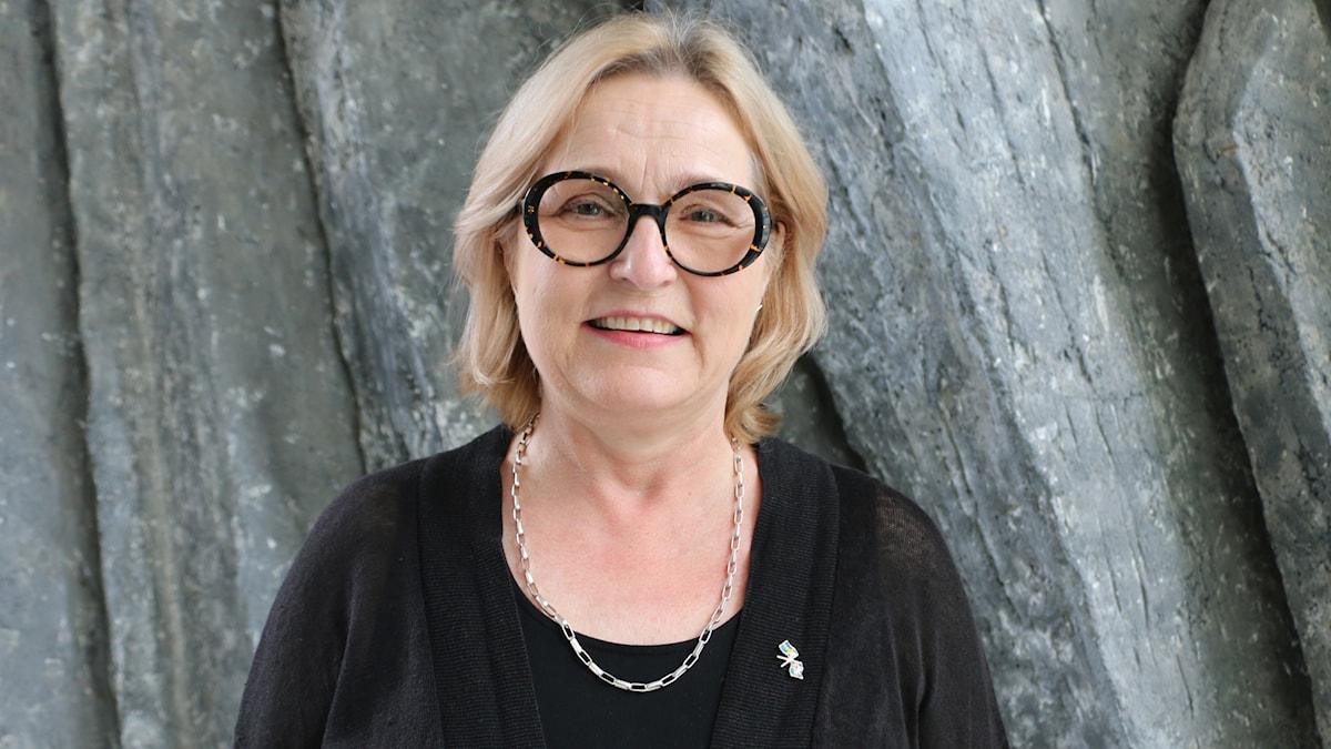 Islands Sverigeambassadör Estrid Brekkan