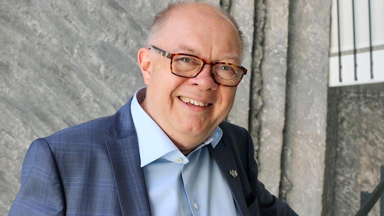 Författaren Tomas Lindbom