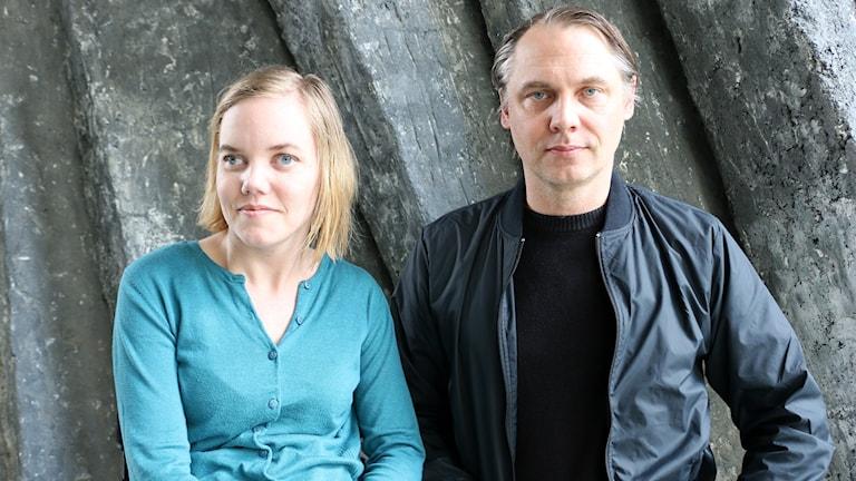"""Regissören Mattias och hans syster Ylva Andersson från Dramatens """"Deformerad Persona"""" gästar Nordegren & Epstein i P1."""