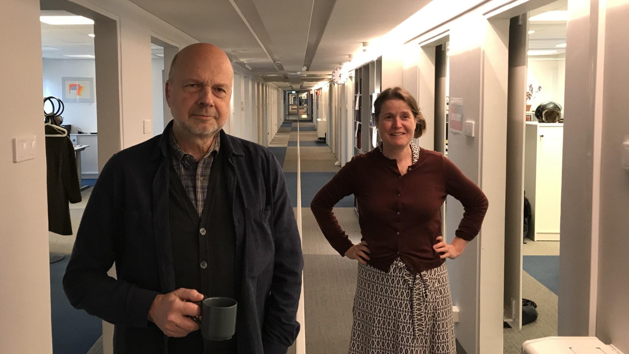 Gunnar Bolin och Louise Epstein.