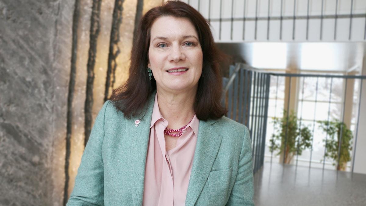 Sveriges EU- och handelsminister Ann Linde