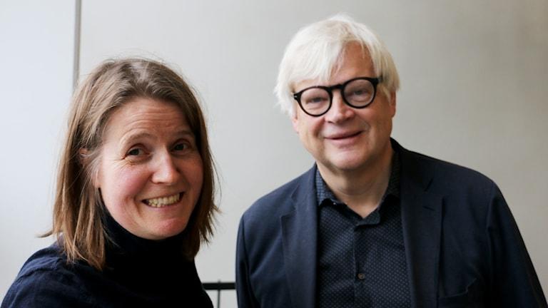 Louise Epstein och Thomas Nordegren, 27 november 2017