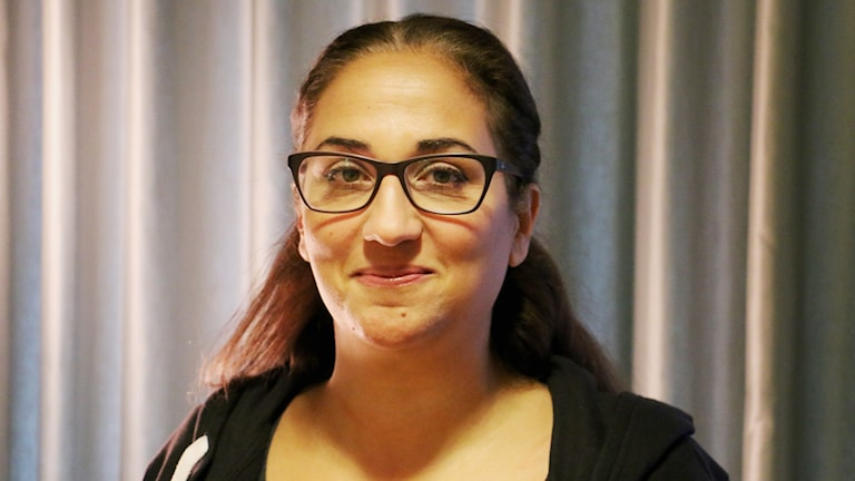 Hiba Daniel, journalist, SVT, gästar studion.