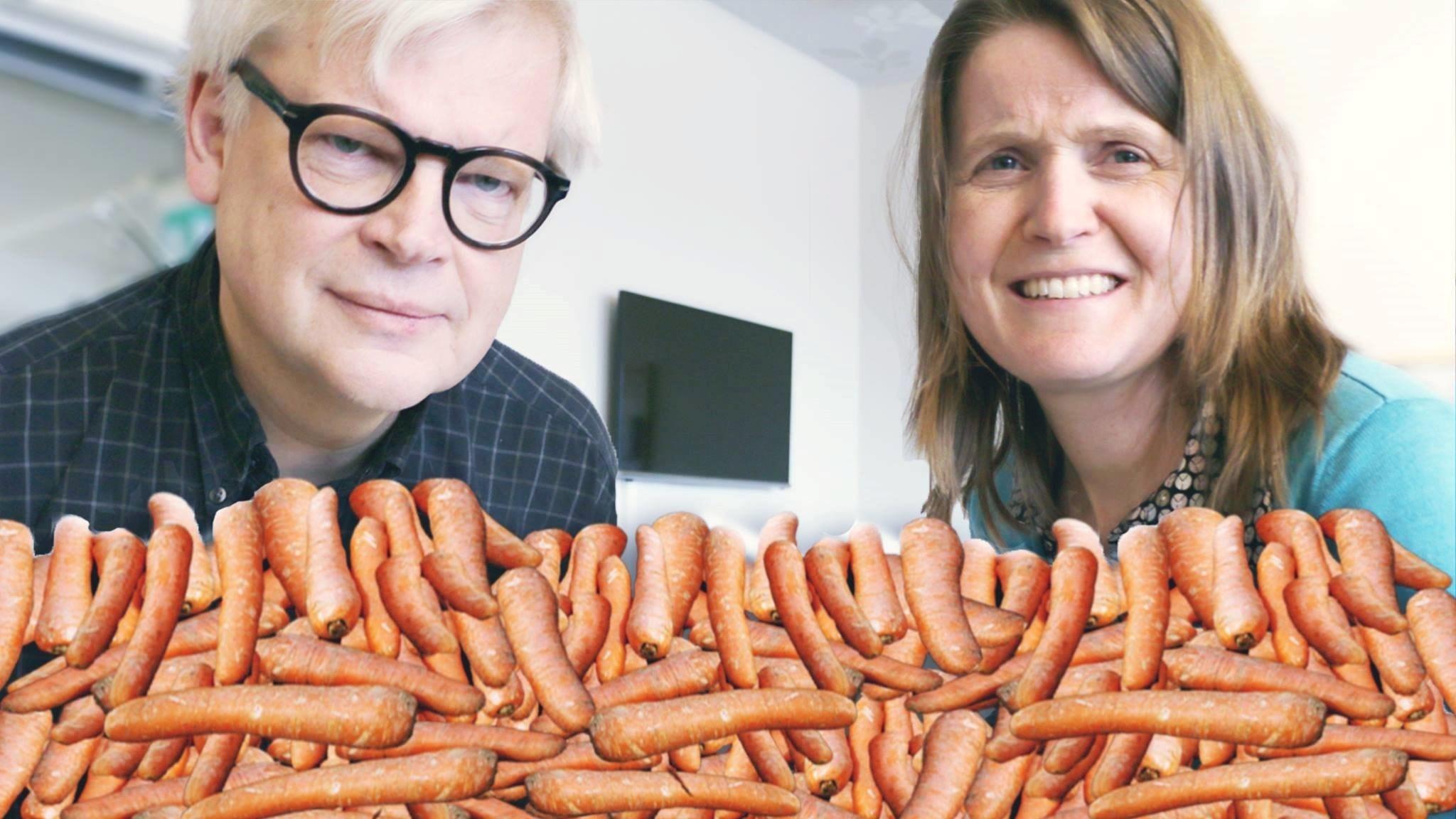 blir man brun av morötter