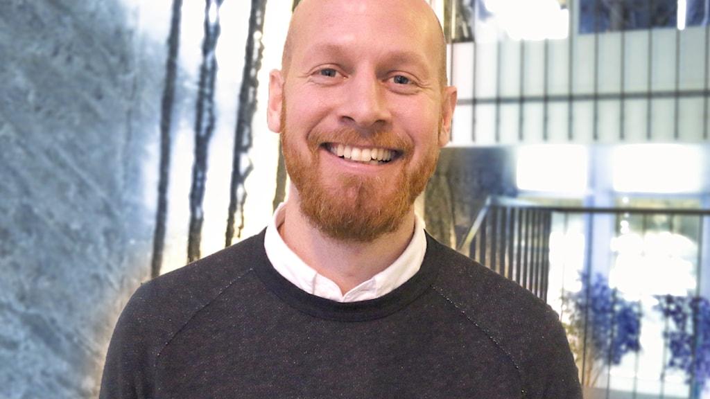 Johan Claesson, samordnare på riksidrottsförbundet.