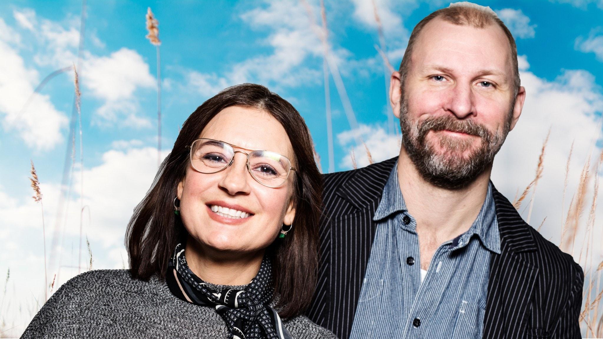 Sommartalkshow med Kalle Lind och Susanna Dzamic (direkt från Malmö).