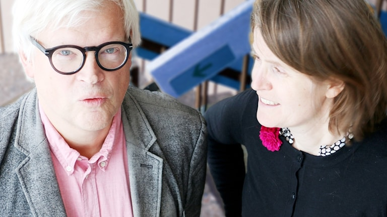 Thomas Nordegren och Louise Epstein