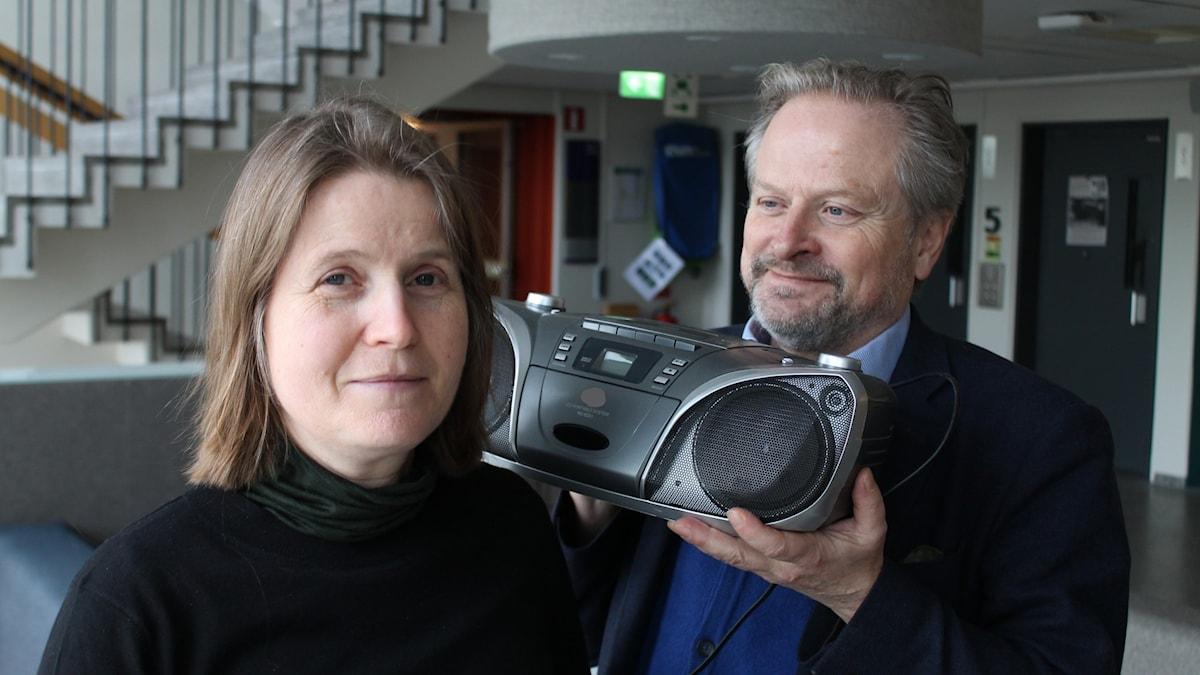 Louise Epstein och Karsten Thurfjell.