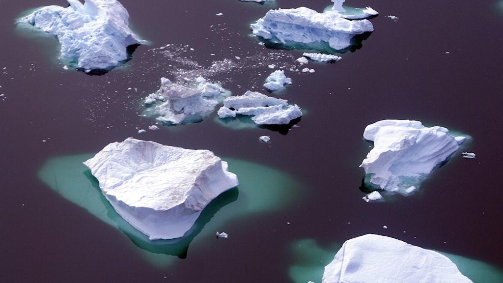 isblock i havet
