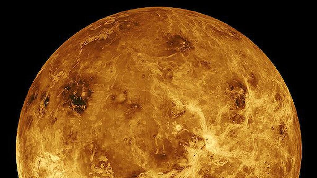 Venus yta.