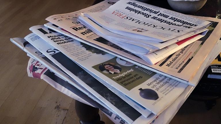 Dagstidningar