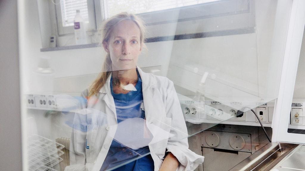 Charlotte Thålin, specialistläkare på Danderyds sjukhus.