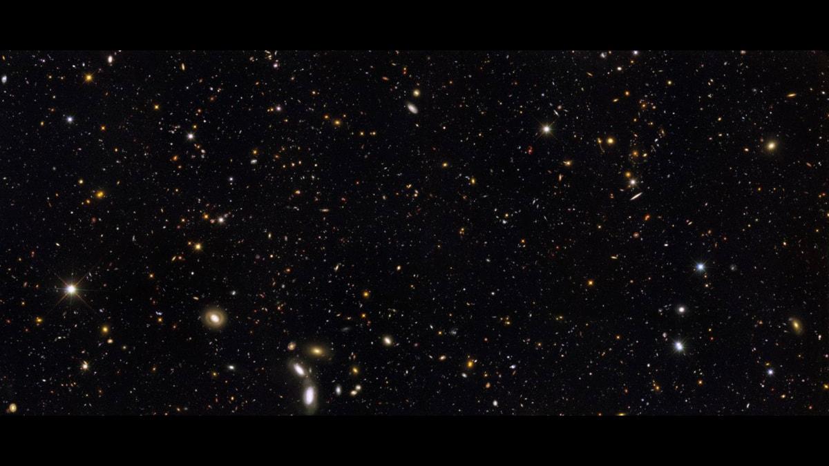 Hur kan det komma sig att universum finns? Foto: Wikimedia Commons/Nasa.